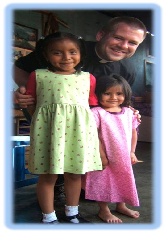 Fr. Sakowski on mission trip to Guatemala